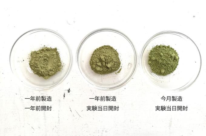 ヘナの粉の比較